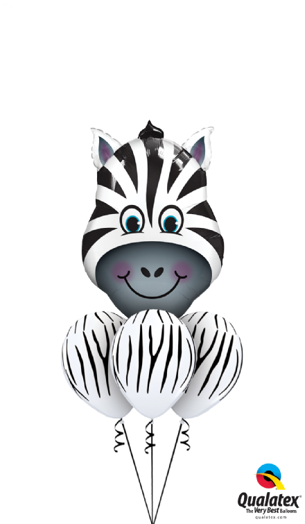 Zaney Zebra Latex Layer